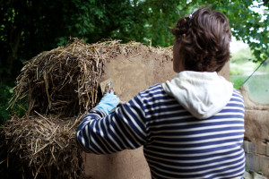 kate clay plasters strawbales 2