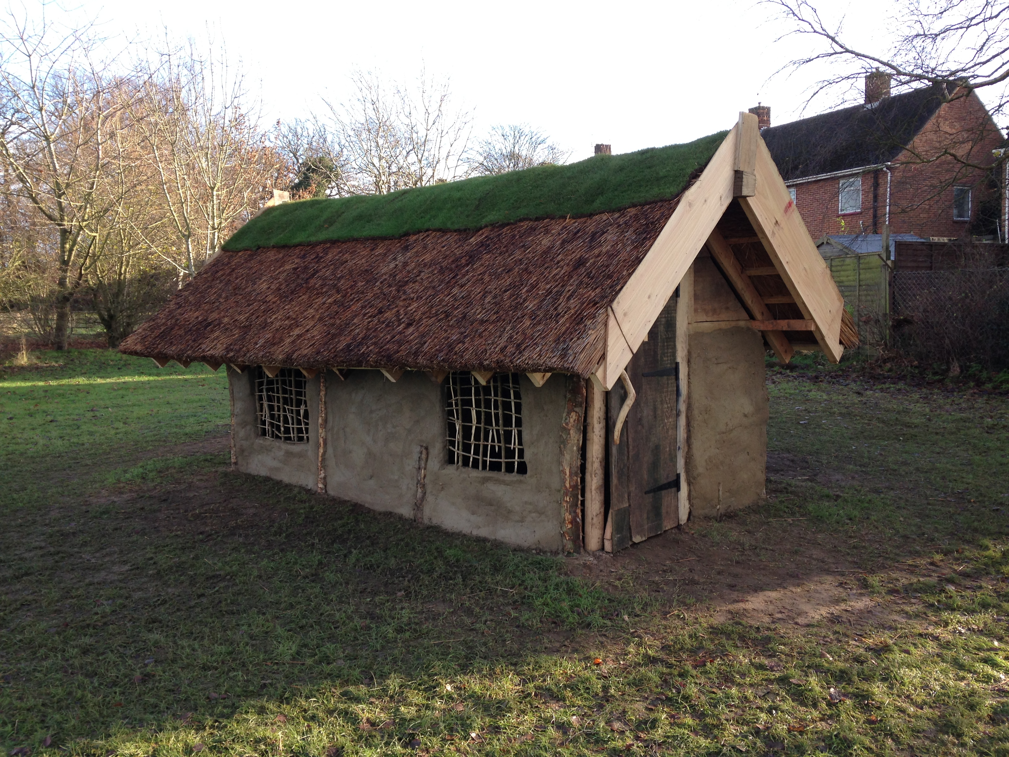 Build an anlgo saxon longhouse at key stage 2 history for House models to build