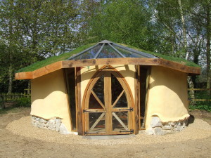 cob garden studio by Kate Edwards