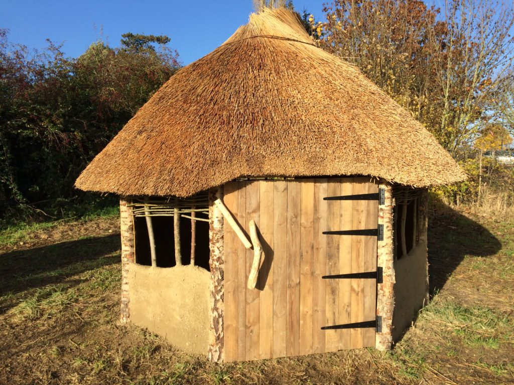 Build an anglo saxon house in your school edwards eve for Houses to build