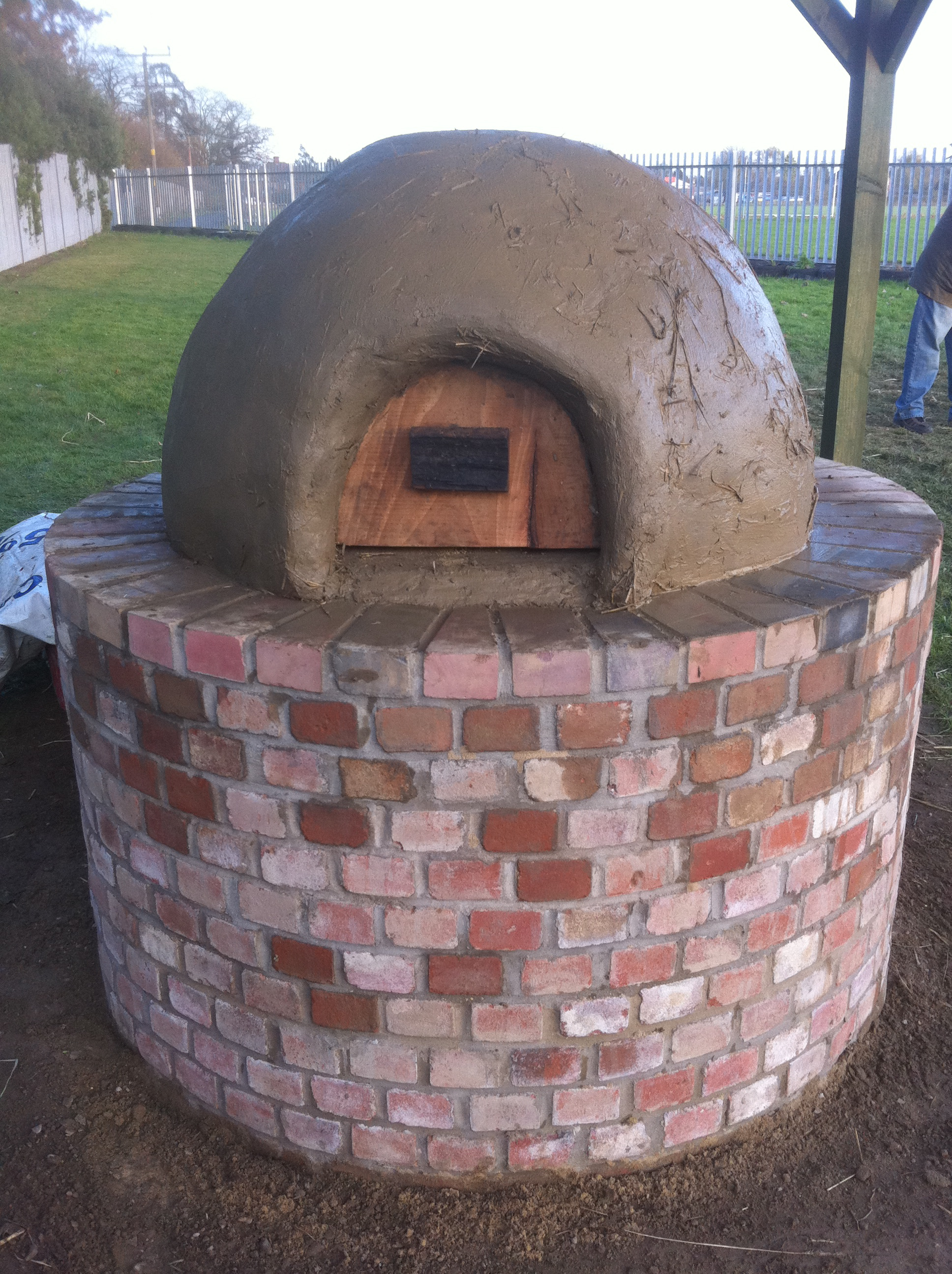 Cob Oven We Built With Students At Wayland Community High