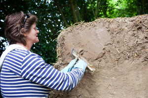 kate clay plasters straw bales