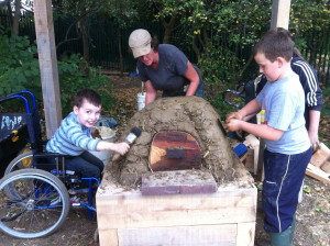 Build a pizza oven in your school with Kate Edwards