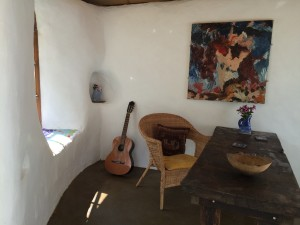 Use your cob studio as an office, creative space